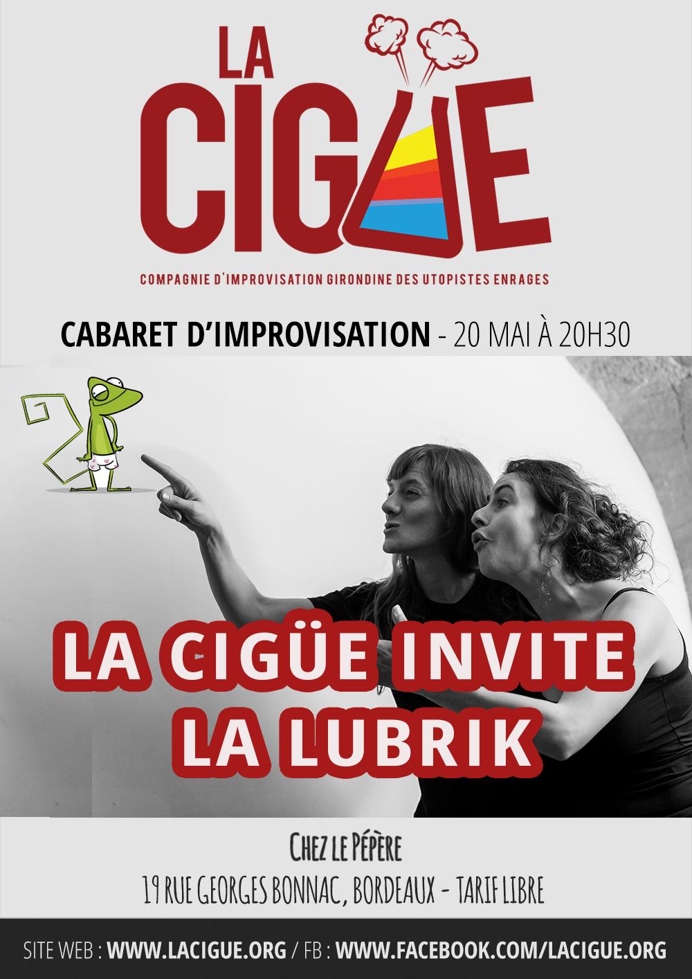 Cabaret avec la Lubrik