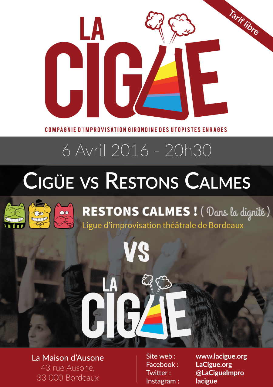 Match Cigüe/Restons Calmes
