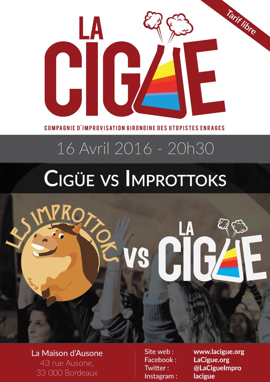 Match Cigüe/Improttoks