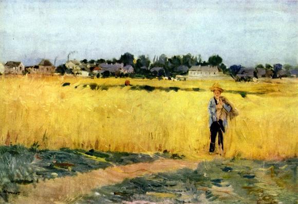 Berthe Morisot – Dans les blés (1875)