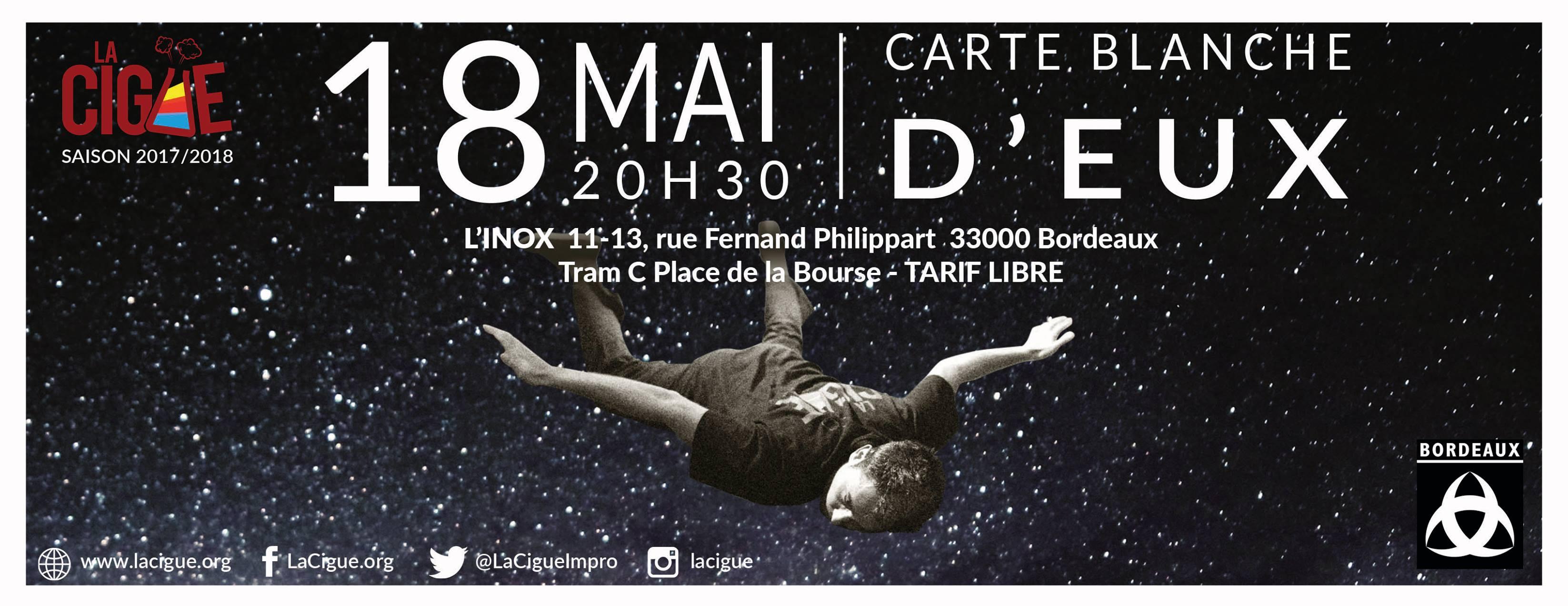 Carte Blanche – D'Eux