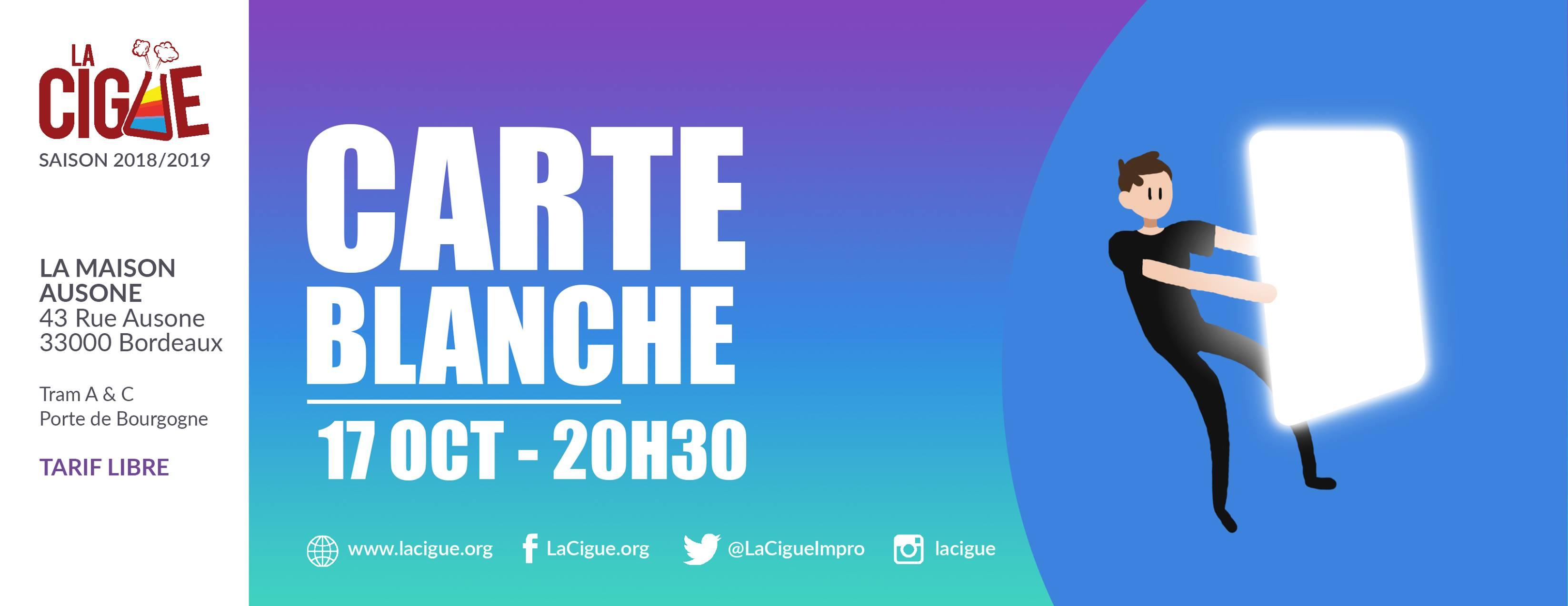 Carte Blanche # 1 – 12HEURES