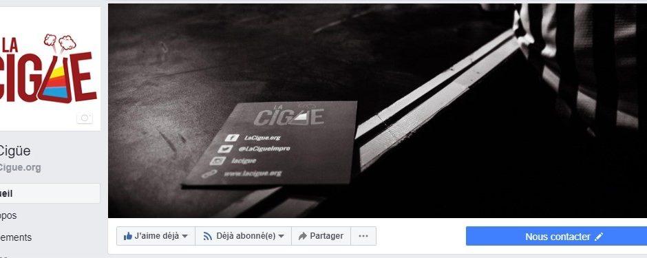 Restons connecté !<br />Likez notre page Facebook