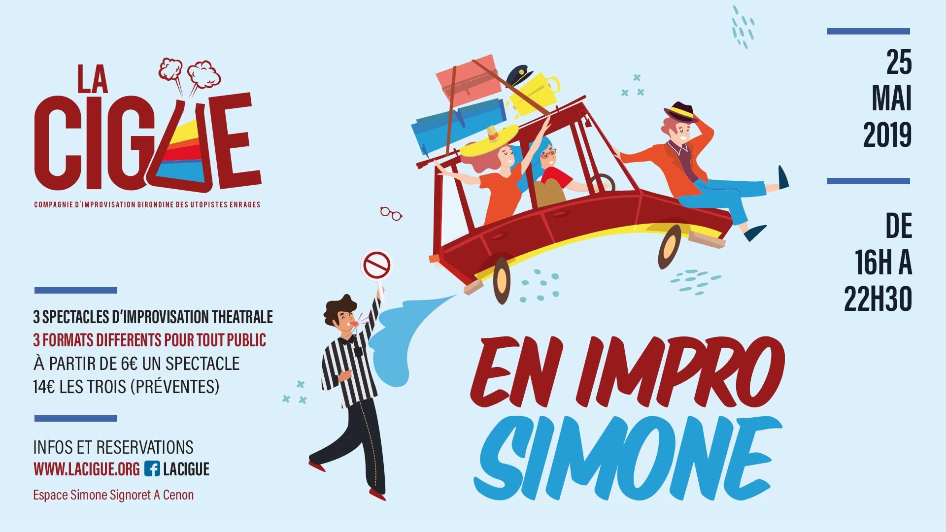 En Impro Simone ! Festival de Théâtre d'Improvisation