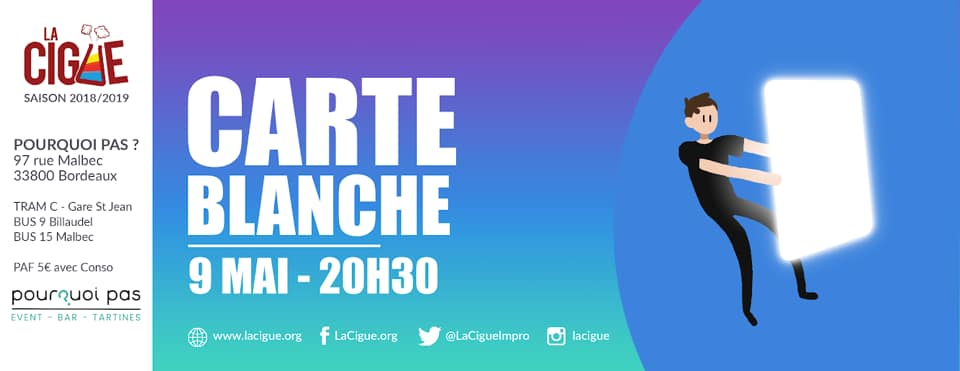 Carte Blanche #4 – Pitch