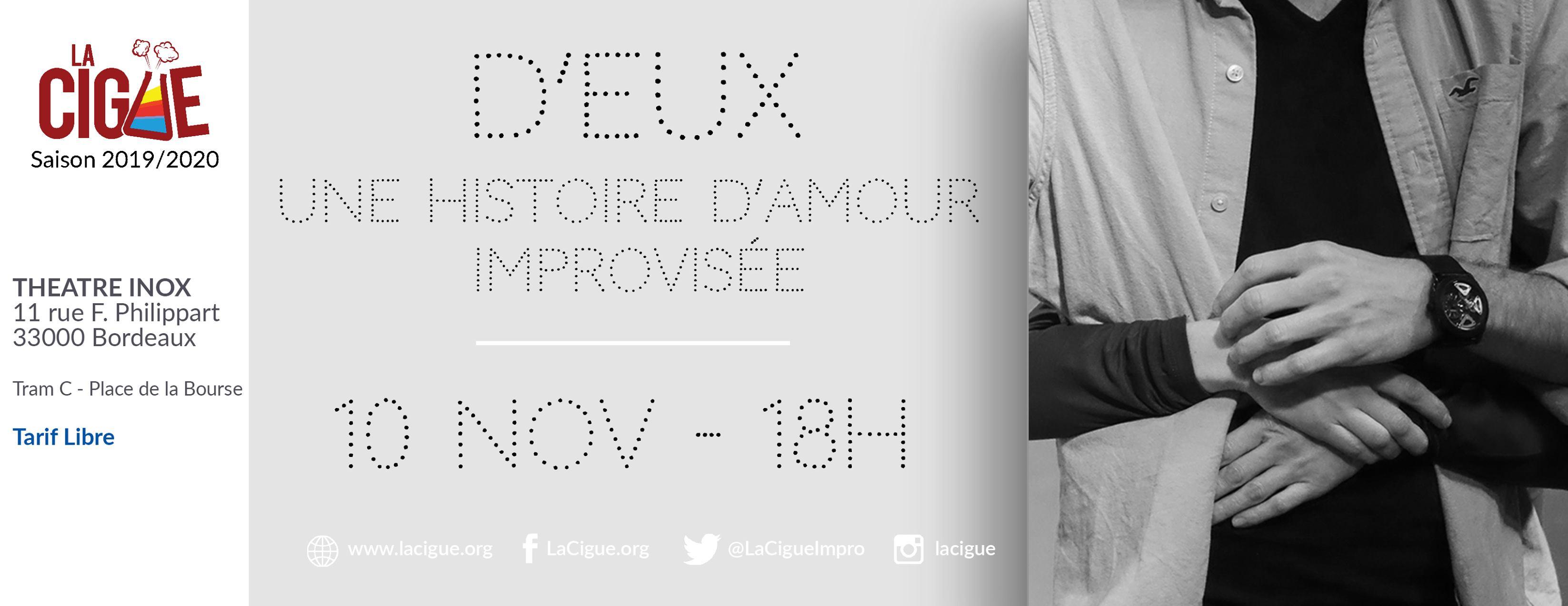 D'EUX : Une histoire d'Amour improvisée