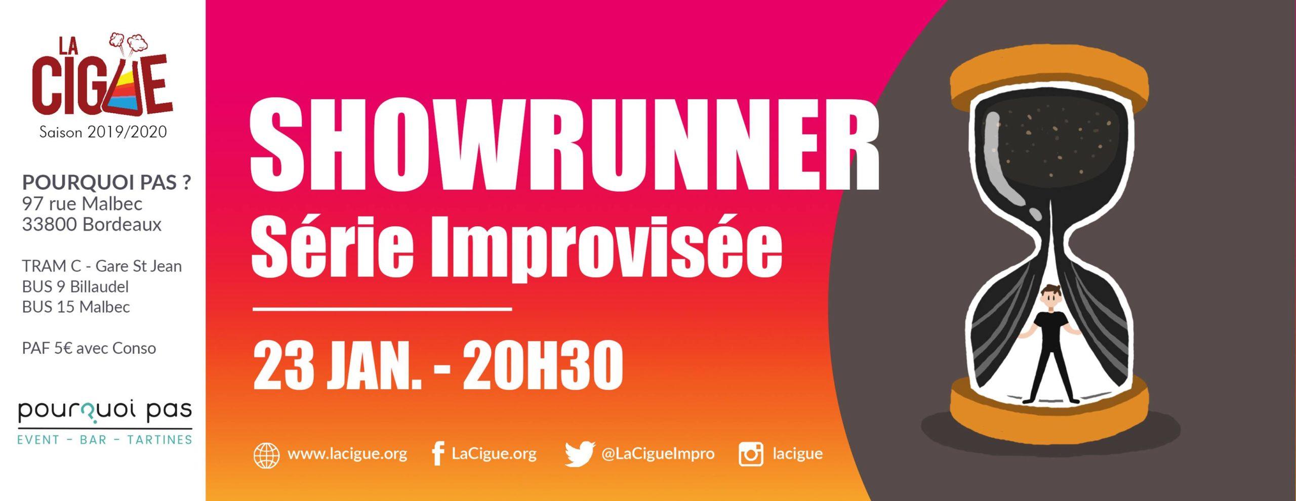 Showrunner – Série Improvisée