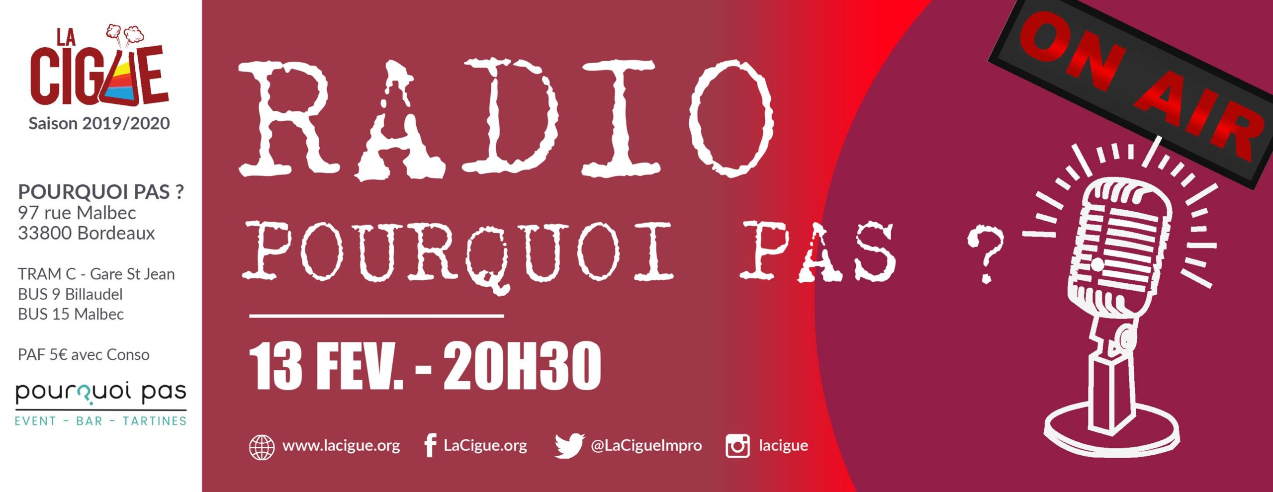 Radio Pourquoi Pas ? Radio Libre improvisée