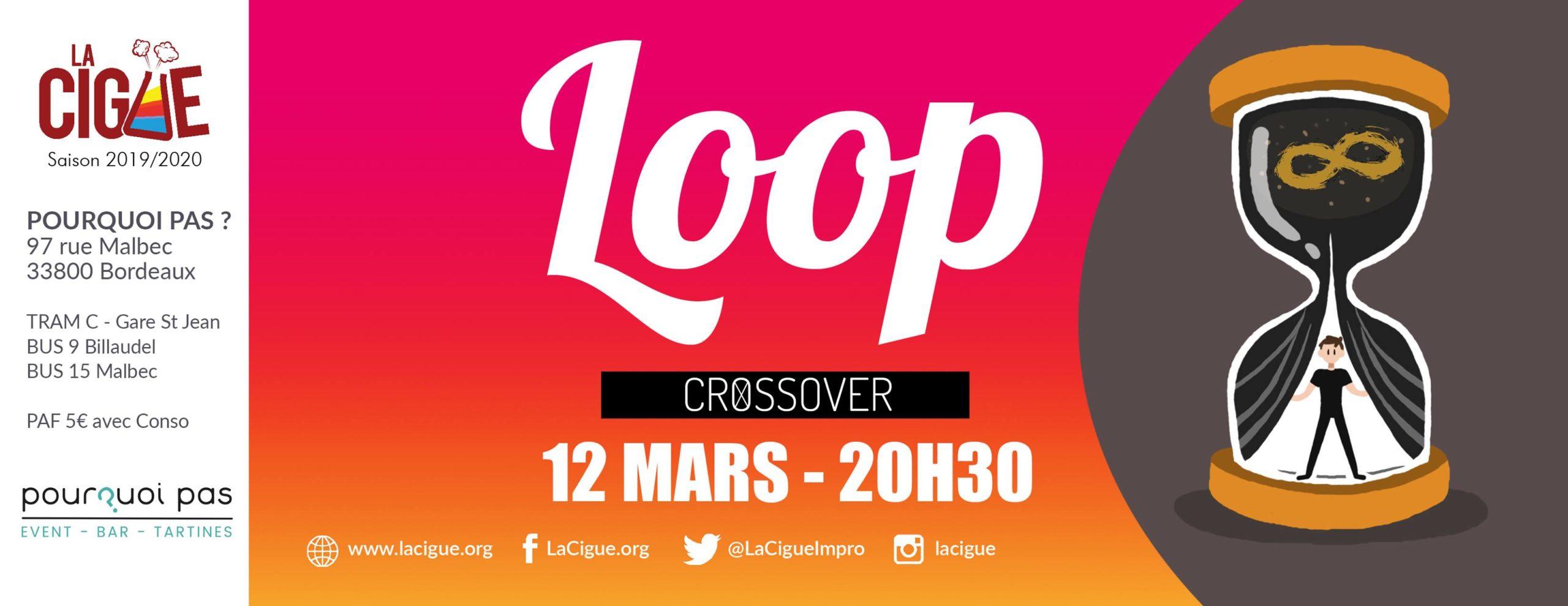 Loop : Un Jour Sans Fin Improvisé – Crossover