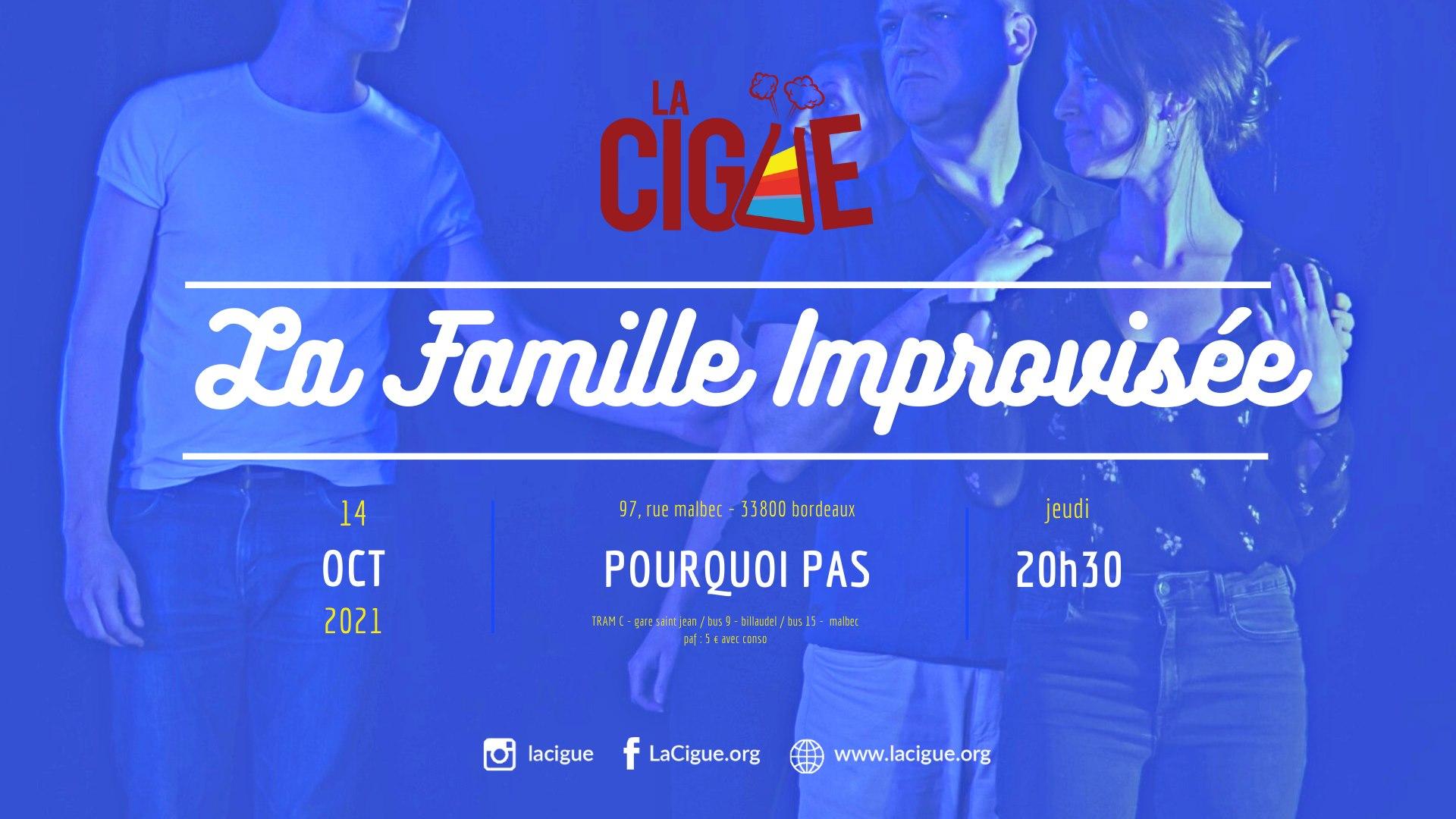 Impro Longue : La Famille Improvisée #1